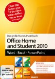 Das grosse Franzis Handbuch Office Home and Student 2010